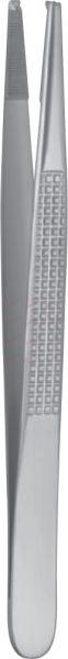 """BONNEY Tissue Forceps 17,5 cm, 7"""" 1x2 teeth"""