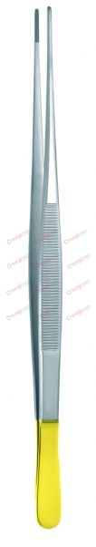 """POTTS-SMITH Dissecting Forceps with tungsten carbide inserts 16 cm, 6¼"""" 0,4 mm with dissector end"""