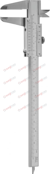 Caliper Measuring range: 155 mm 23,5 cm, 9¼""