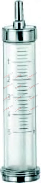 Barrels with LUER cone 50 ml