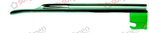 ECONOMY MILLER F.O. Blades with non-replaceable Fiber Optik Adult (medium) Fig 4 I 128 mm