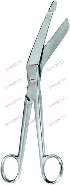 """BERGMANN Bandage Scissors 23 cm, 9"""""""