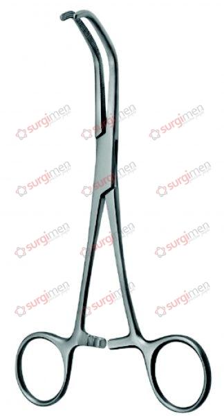 """BABY-SATINSKY Anastomosis (Vena Cava) Clamps 16 cm, 6¼"""""""