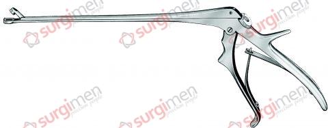 """BAGGISH Cervical Biopsy and Specimen Forceps 4 x 6,5 mm 23,0 cm/9"""""""