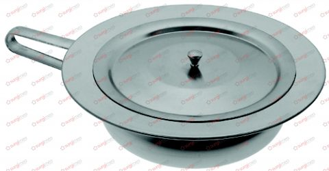 Bed pan, lid with knob ø 310 mm