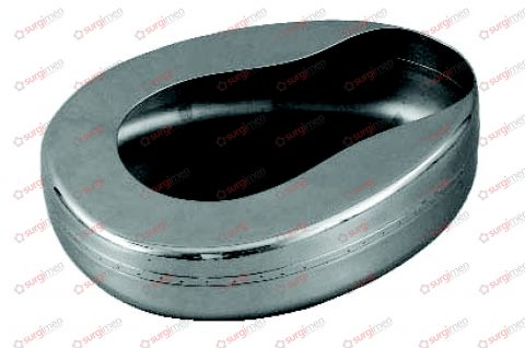 Bed pan (american pattern) 380 x 230 x 95 mm