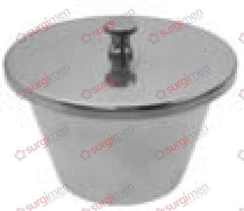 Bowl for dentures ø 100 x 60 mm
